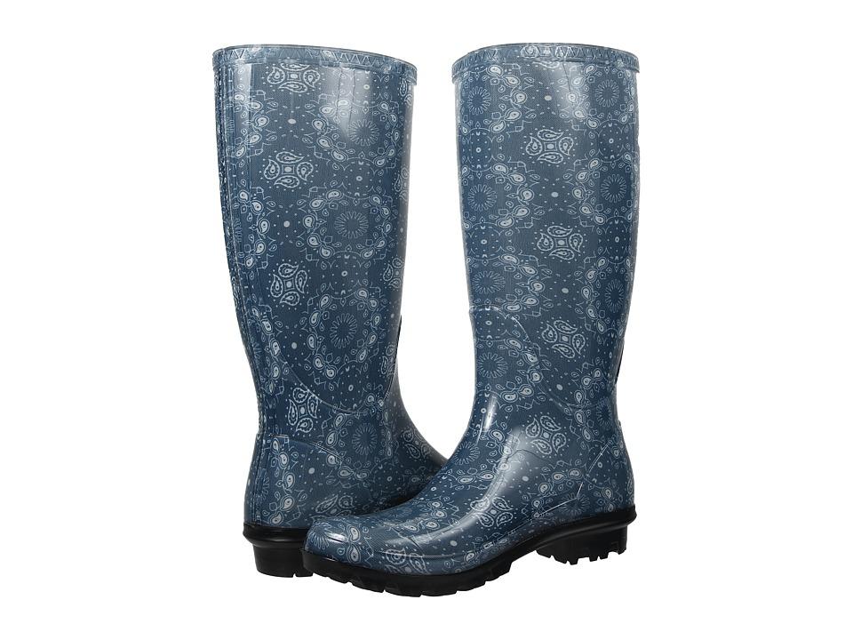 UGG - Shaye Bandana (Stonewash Rubber) Women's Pull-on Boots