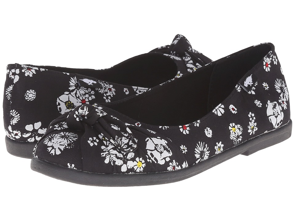 Rocket Dog - Jiggy (Black Lily) Women's Flat Shoes