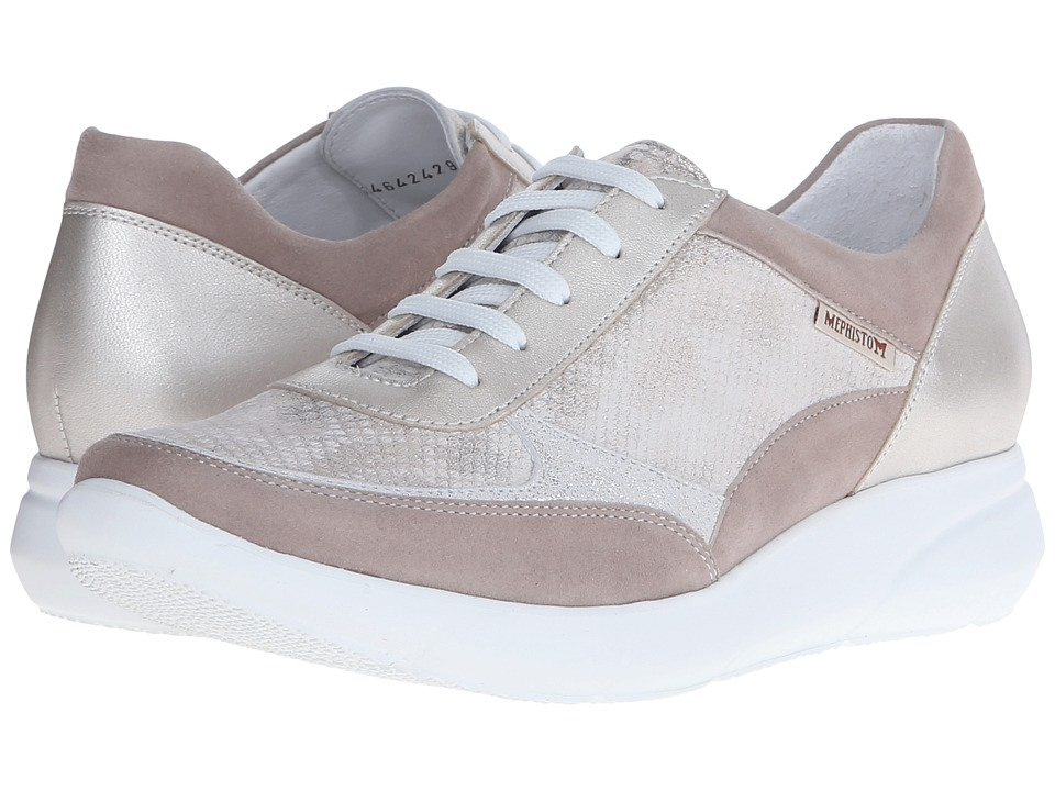 Mephisto Diane (Warm Grey Velcalf Premium/Light Sand) Women