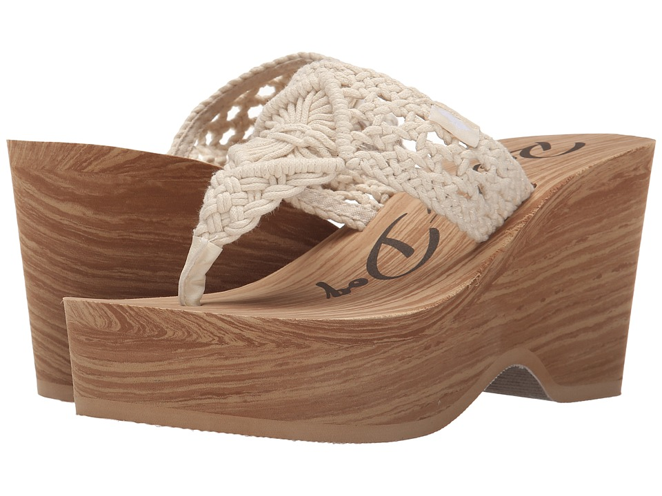 Rocket Dog - Helena (Natural Macrame) Women's Wedge Shoes