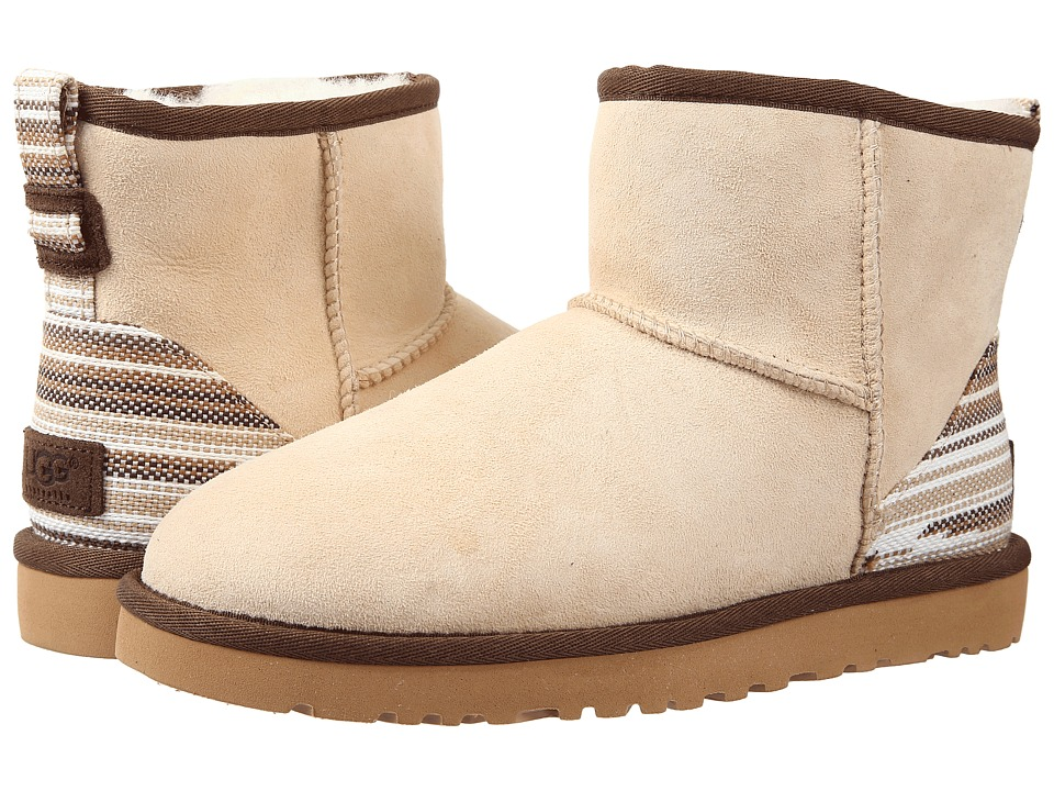 UGG - Classic Mini Serape (Cream Twinface) Women