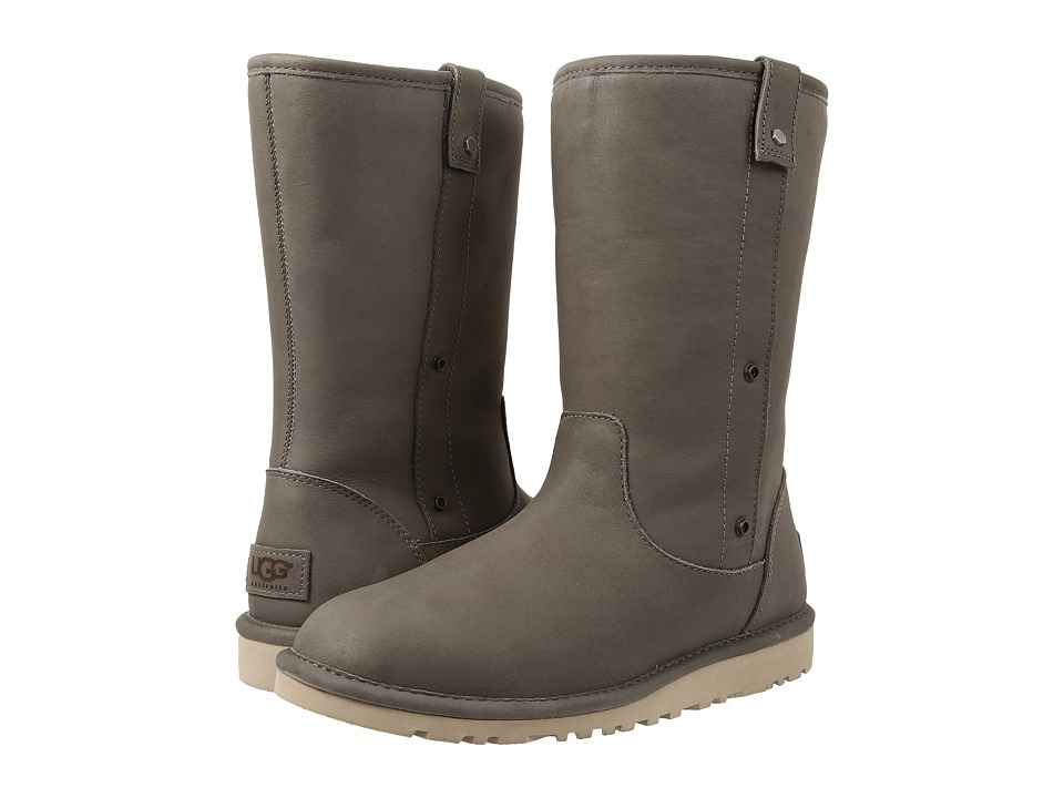 UGG - Malindi (Steel Water Resistant Leather) Women's Pull-on Boots