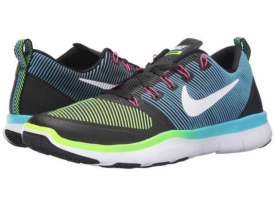 Nike - Free Train Versatility (Black/Electric Green/White) Men's Cross Training Shoes