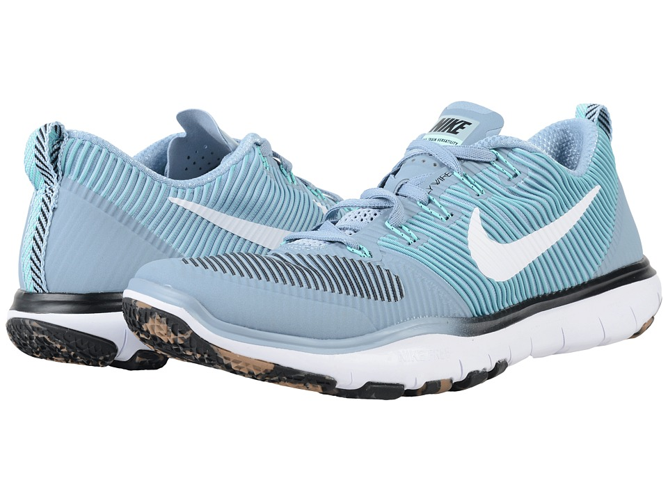 Nike - Free Train Versatility (Blue Grey/Electric Green/White) Men's Cross Training Shoes