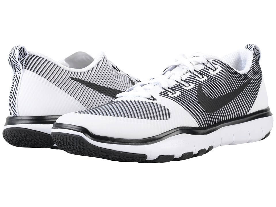 Nike - Free Train Versatility (White/Black) Men's Cross Training Shoes