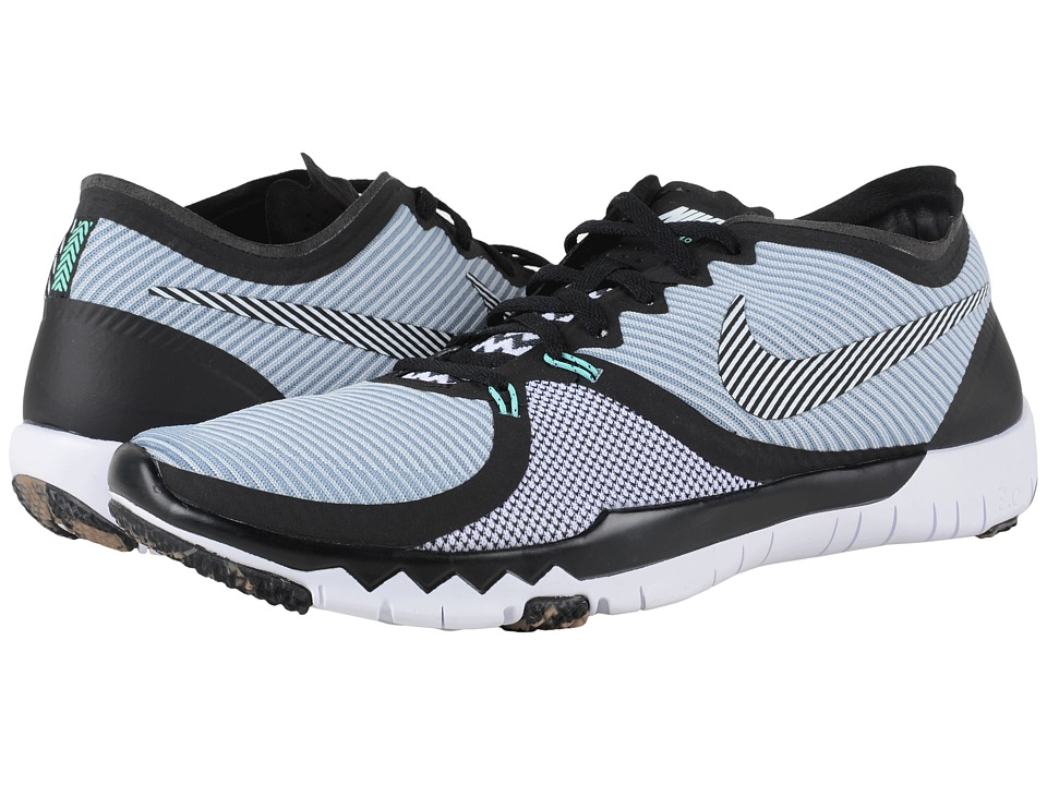 Nike - Free Trainer 3.0 V4 (Barely Grey/Black/Pure Platinum/White) Men's Cross Training Shoes