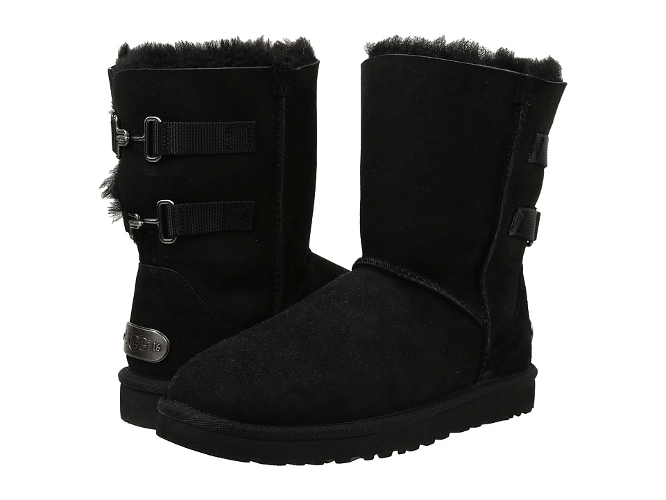 UGG - Fairmont (Black Twinface) Women's Pull-on Boots