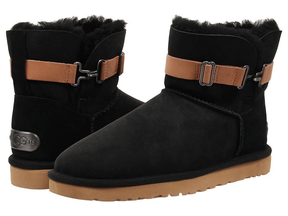 UGG - Aurelyn (Black Twinface) Women's Pull-on Boots