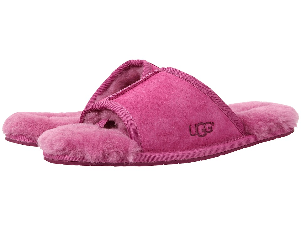 UGG - Mellie (Furious Fuchsia Water Resistant Suede) Women's Slide Shoes