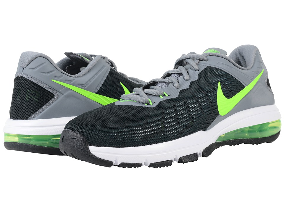 Nike - Air Max Full Ride TR (Black/Cool Grey/Voltage Green/Electric Green) Men's Cross Training Shoes