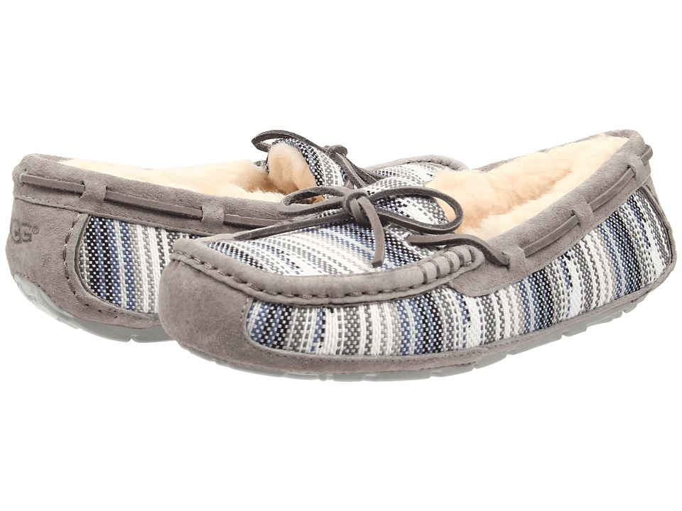 UGG - Symona Serape (Seal Jacquard) Women's Moccasin Shoes