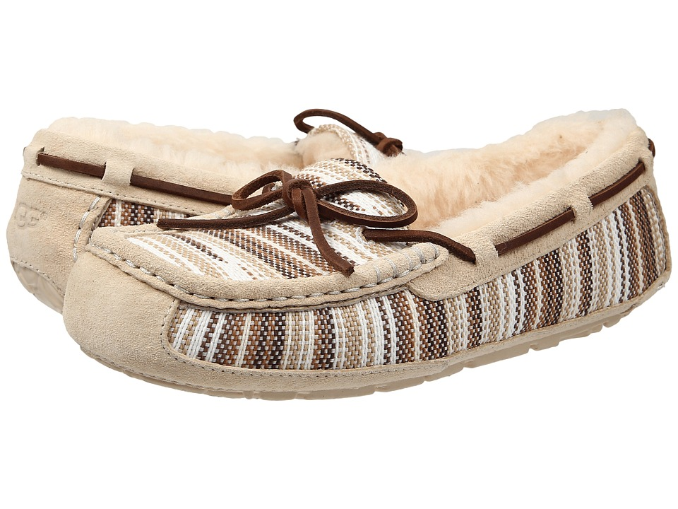 UGG - Symona Serape (Cream Jacquard) Women's Moccasin Shoes