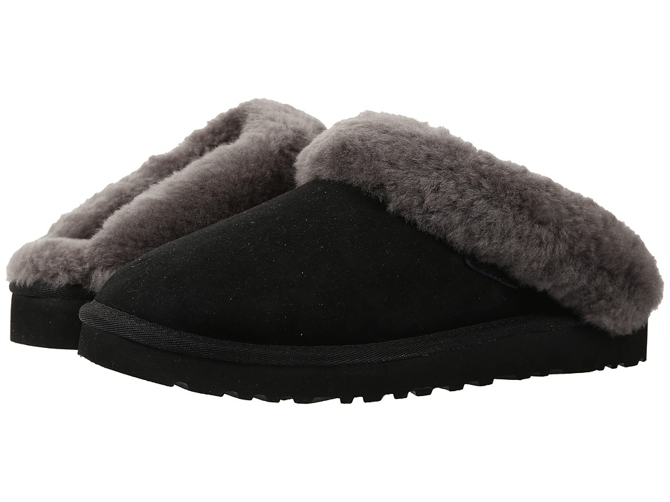 UGG - Cluggette (Black Twinface) Women's Shoes