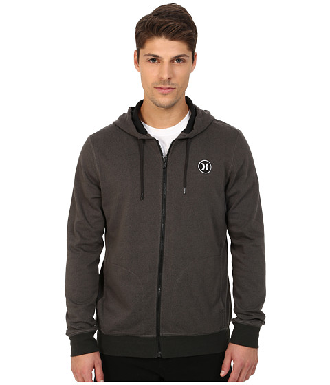 Hurley - Dri-Fit League Zip Fleece (Dark Storm) Men's Fleece