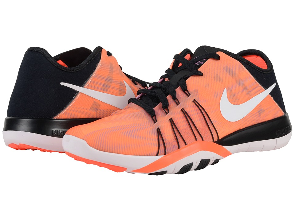 Nike - Free TR 6 PRT (Black/Total Crimson/Pearl Pink/White) Women's Cross Training Shoes