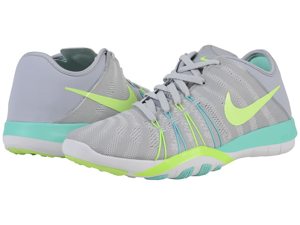 Nike - Free TR 6 (Wolf Grey/Hyper Turquoise/Pure Platinum/Ghost Green) Women's Cross Training Shoes