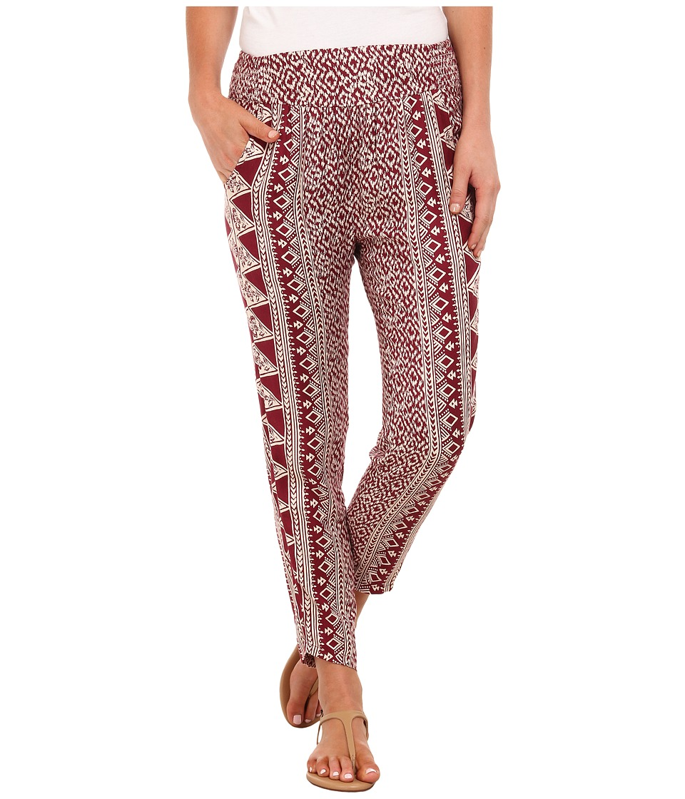 Billabong - Keep It Together Pants (Black Cherry) Women's Casual Pants