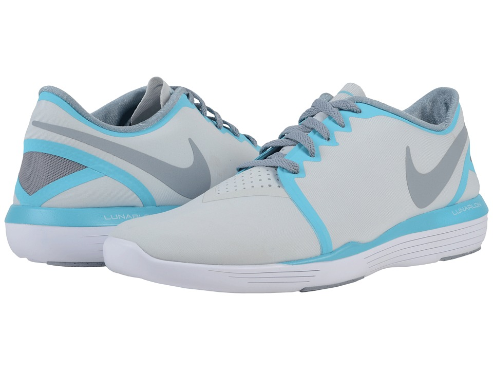 Nike - Lunar Sculpt (Pure Platinum/Gamma Blue/Stealth) Women's Cross Training Shoes