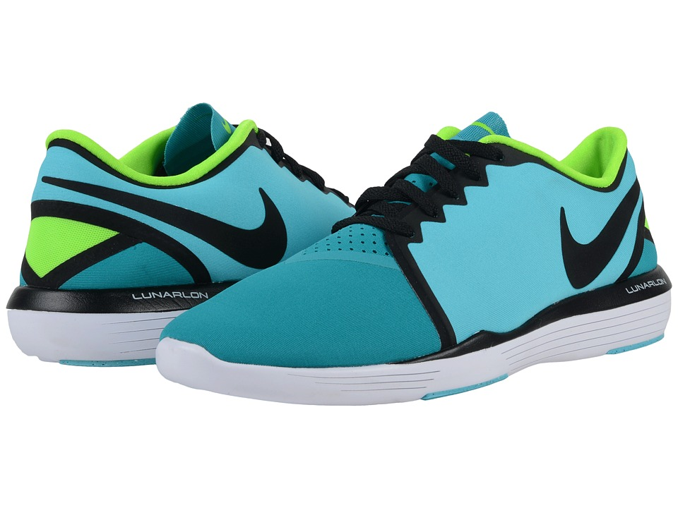 Nike - Lunar Sculpt (Gamma Blue/Energy/Electric Green/Black) Women's Cross Training Shoes