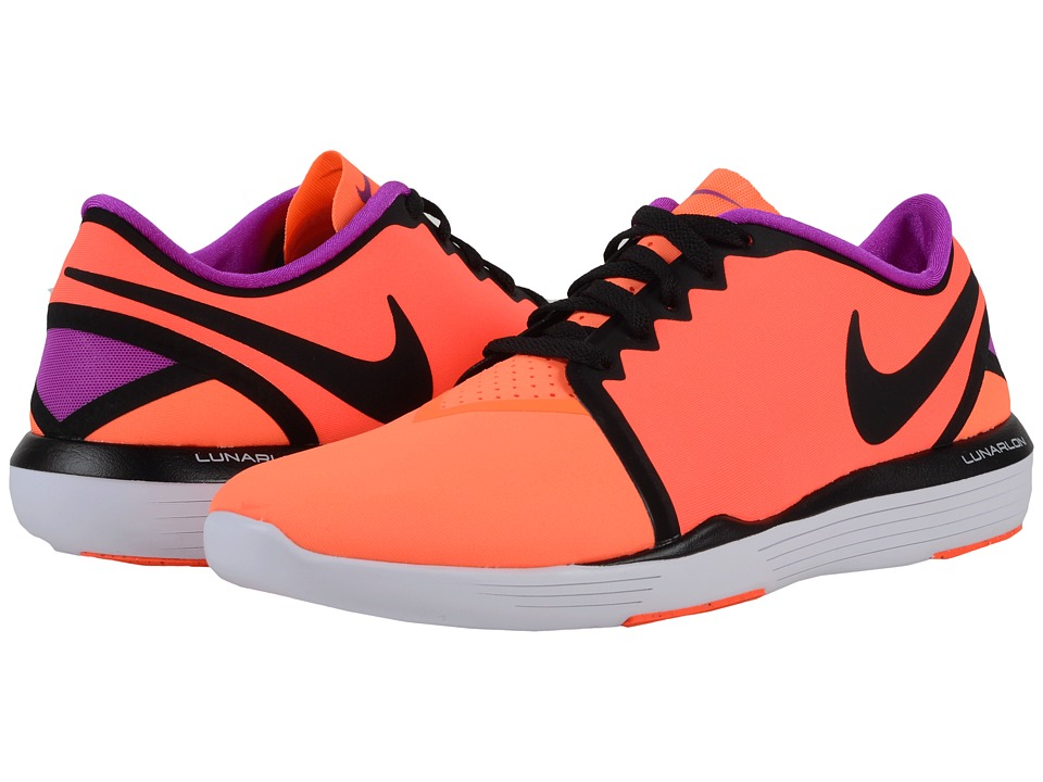Nike - Lunar Sculpt (Total Crimson/Total Orange/Hyper Violet/Black) Women's Cross Training Shoes