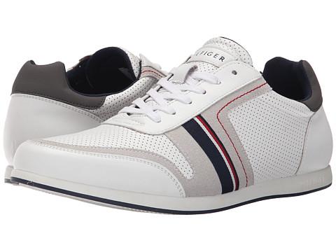 Tommy Hilfiger - Owen (White) Men's Shoes