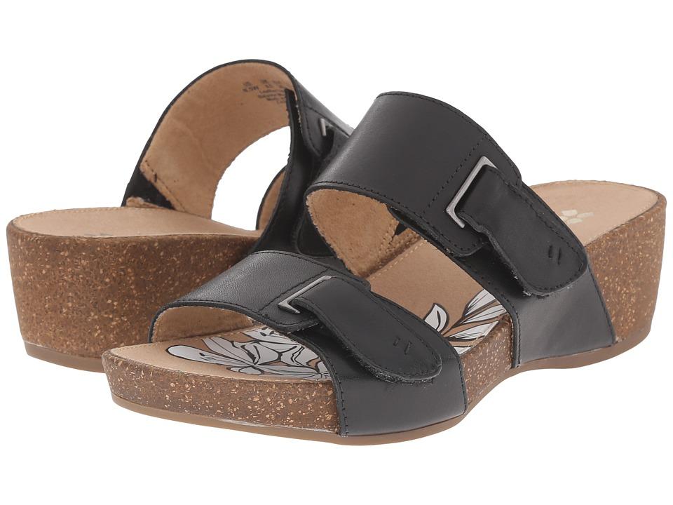 Naturalizer - Carena (Black Leather) Women's Shoes