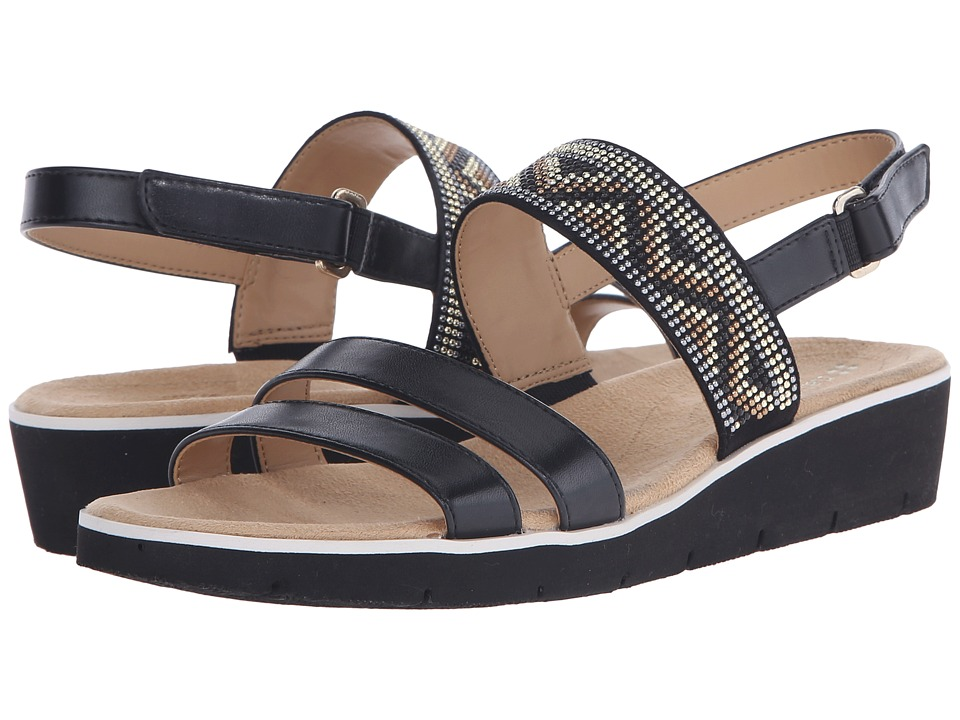 Naturalizer - Dynamic (Black Smooth/Beads) Women's Sandals