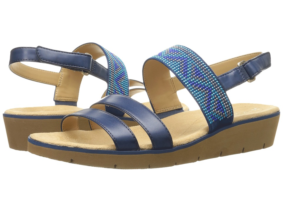 Naturalizer - Dynamic (Mali Blue Smooth/Beads) Women's Sandals