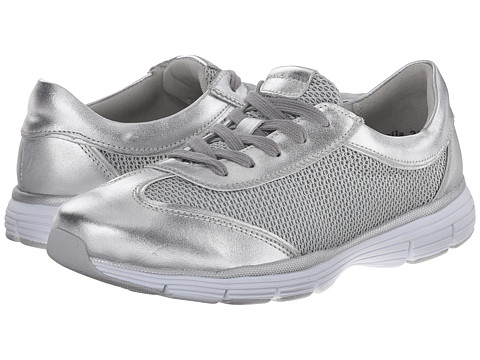 Alivio - Sheila (Silver Mesh) Women's Lace up casual Shoes