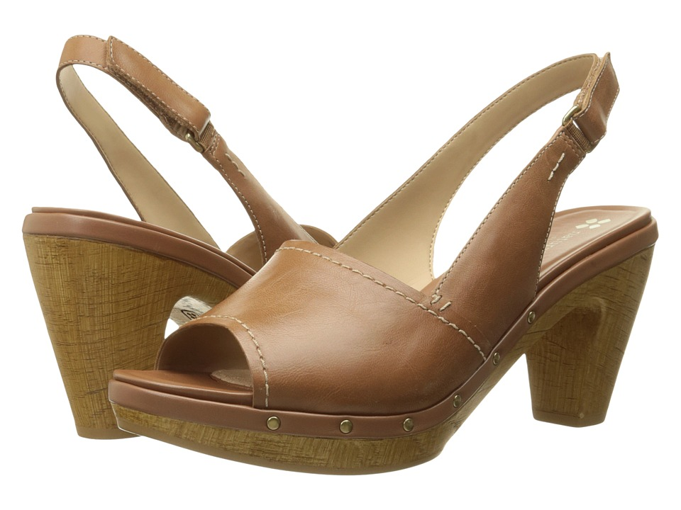 Naturalizer - Honey (Tan Leather) Women's Dress Sandals
