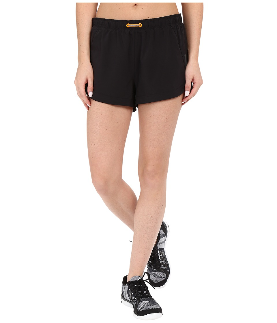 Lucy - Revolution Run 3 Woven Shorts (Lucy Black) Women's Shorts