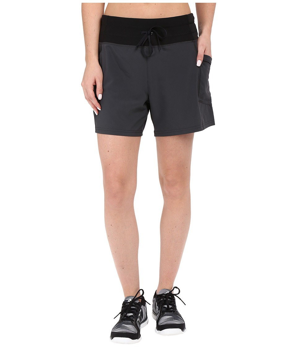 Lucy - Revolution Run 5 Woven Shorts (Fossil) Women's Shorts