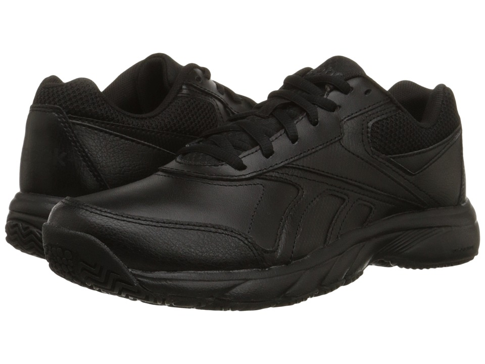 Reebok - Work N Cushion 2.0 (Black/Black) Men's Shoes
