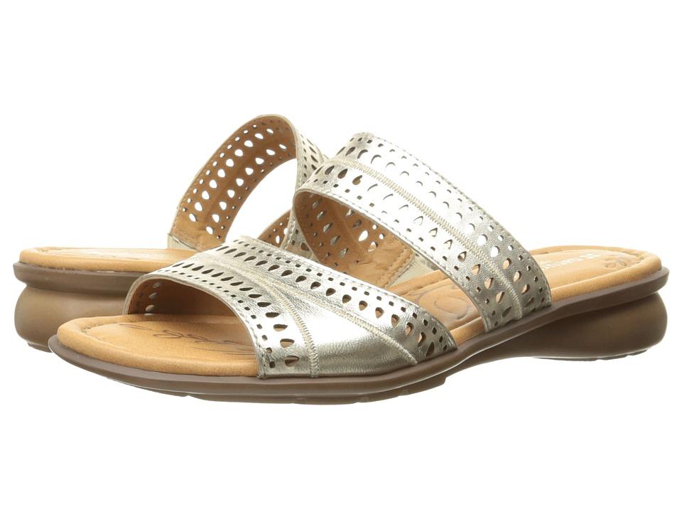 Naturalizer - Jenaya (Platina Foil Metallic Leather) Women's Flat Shoes