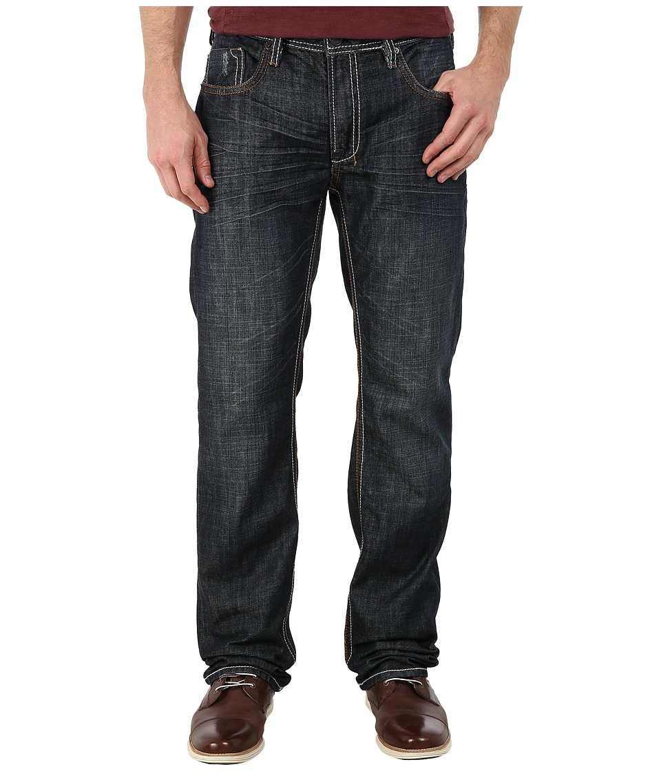 Buffalo David Bitton - Driven Basic Straight Jeans in Dark Worn Out (Dark Worn Out) Men