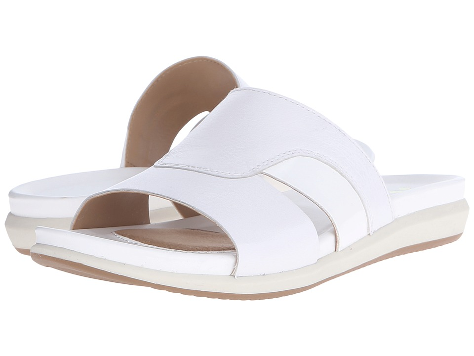 Naturalizer - Subtle (White Leather/Shiny) Women's Dress Sandals