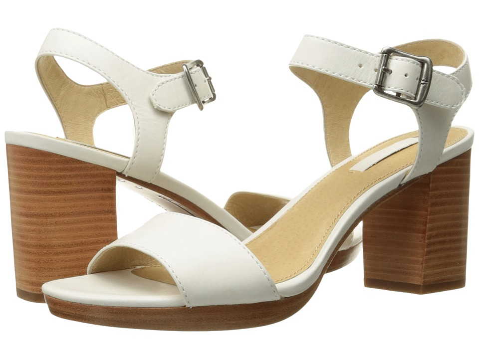 Frye - Blake 2 Piece (White Smooth Full Grain) High Heels