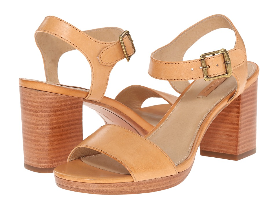 Frye - Blake 2 Piece (Natural Smooth Full Grain) High Heels