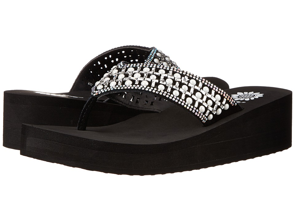 Yellow Box - Blanc (Black/White) Women's Sandals