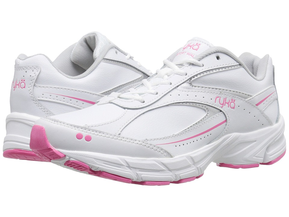 Ryka - Comfort Walk (White) Women