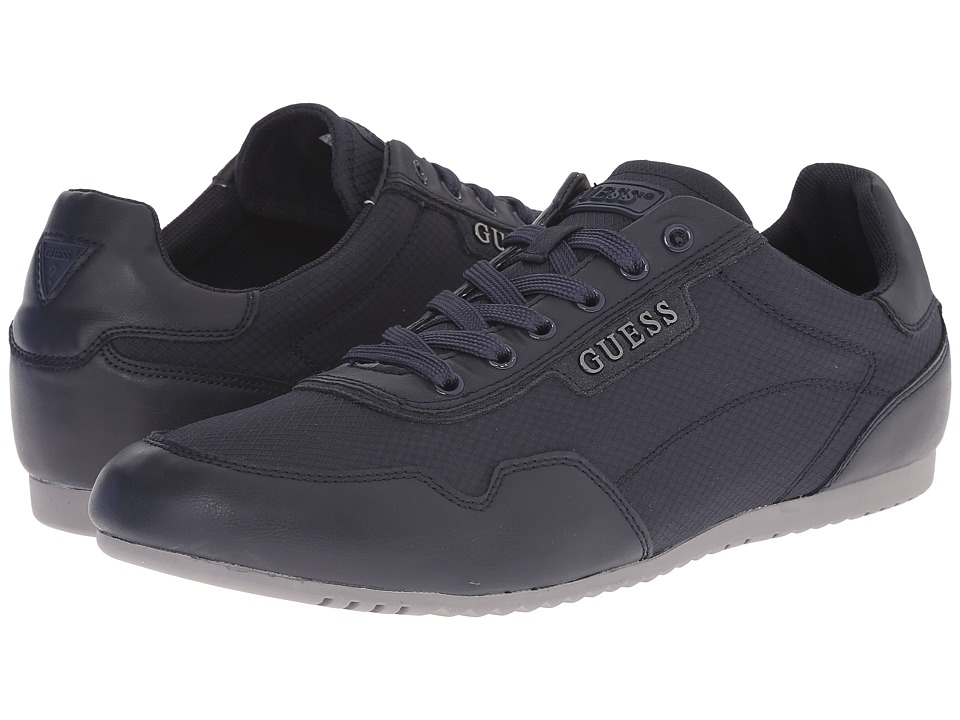 GUESS - Teddie (Navy) Men's Shoes