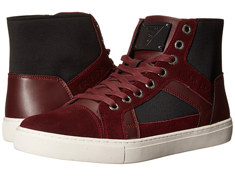 GUESS - Toledo (Burgundy) Men's Shoes