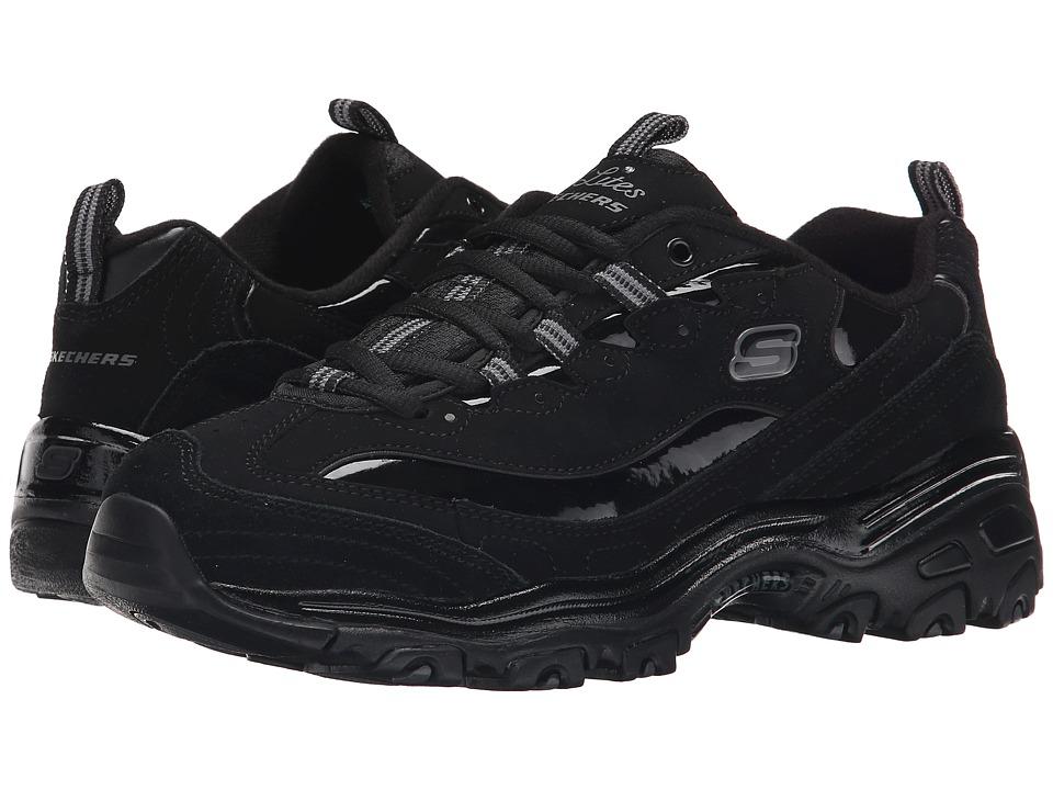 SKECHERS - D'Lites - Dream Big (Black) Women's Lace up casual Shoes