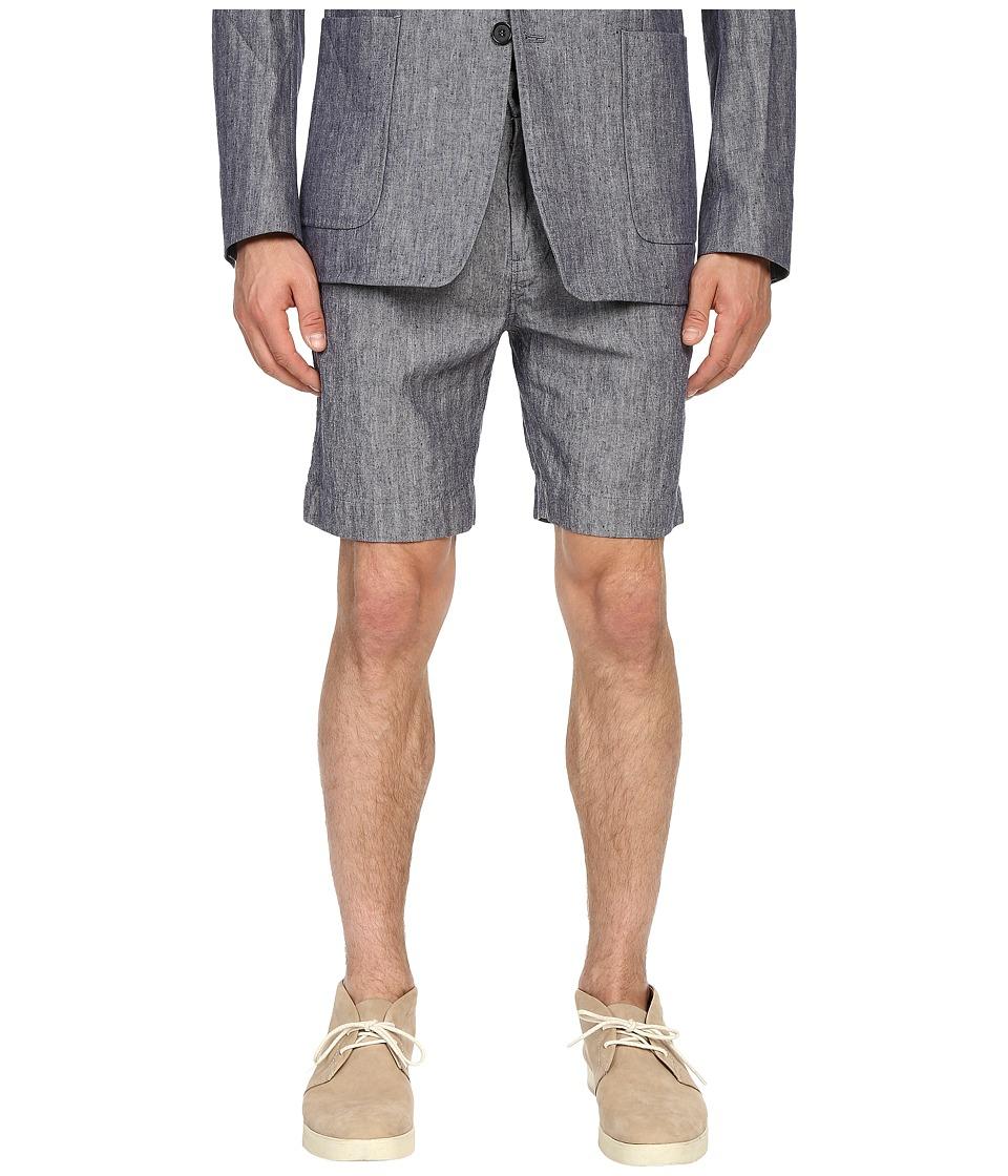 Billy Reid - Chino Shorts (Blue) Men's Shorts