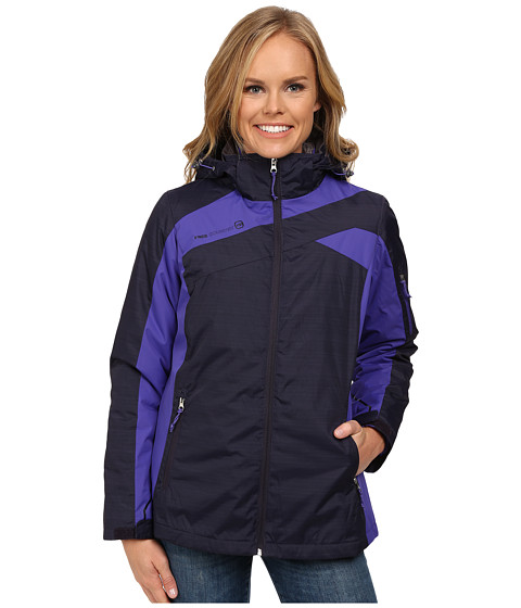 Free Country - 3-in-1 Systems Jacket (Purple Moon Combo/Purple Iris) Women's Coat