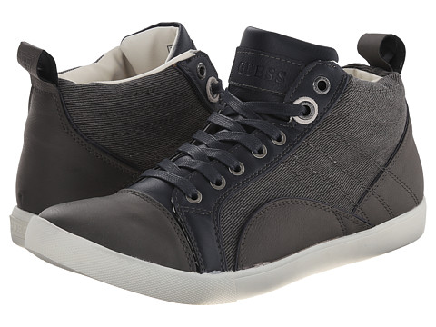 GUESS - Jonesy (Grey) Men's Shoes