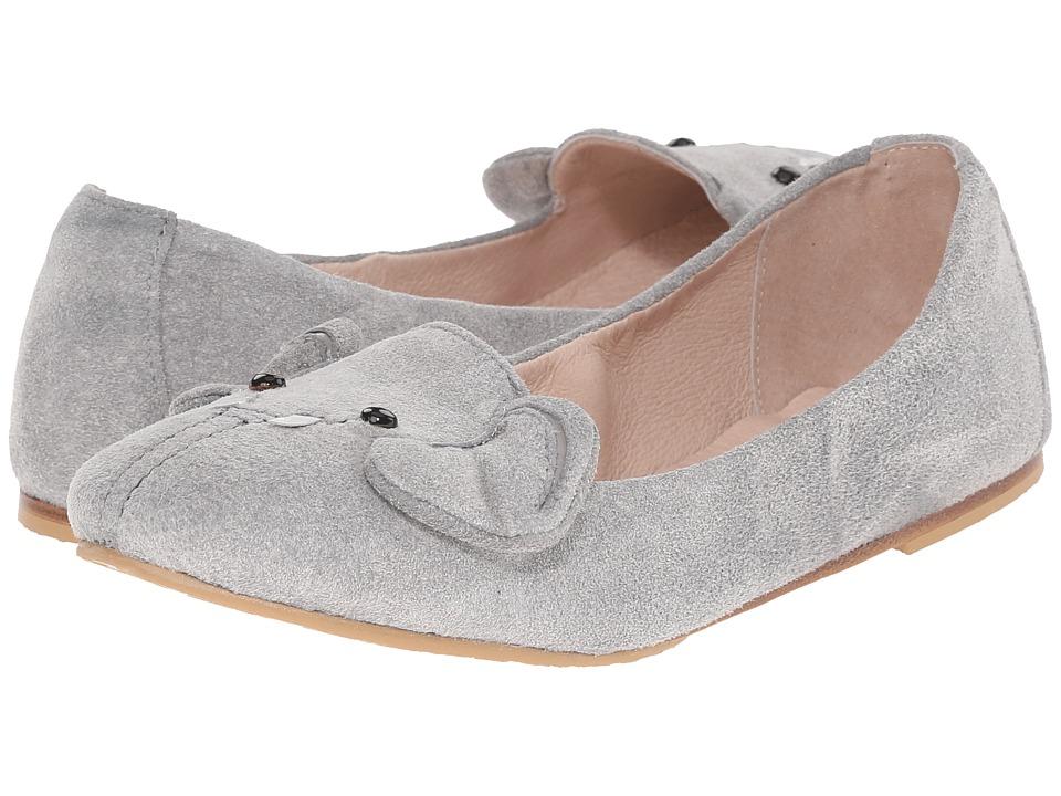 Bloch Kids - Elephant (Toddler/Little Kid/Big Kid) (Grey) Girl's Shoes