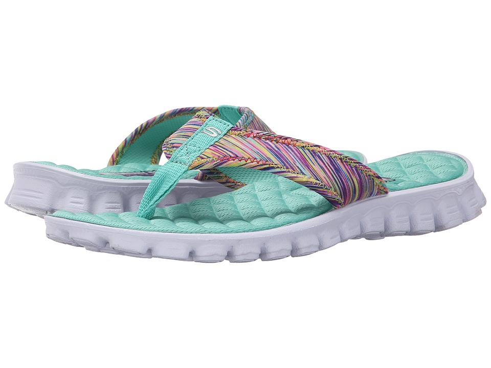 SKECHERS - EZ Flex Cool - Space (Aqua) Women's Sandals