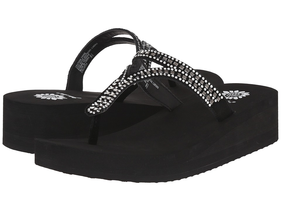 Yellow Box - Colletta (Black) Women's Sandals