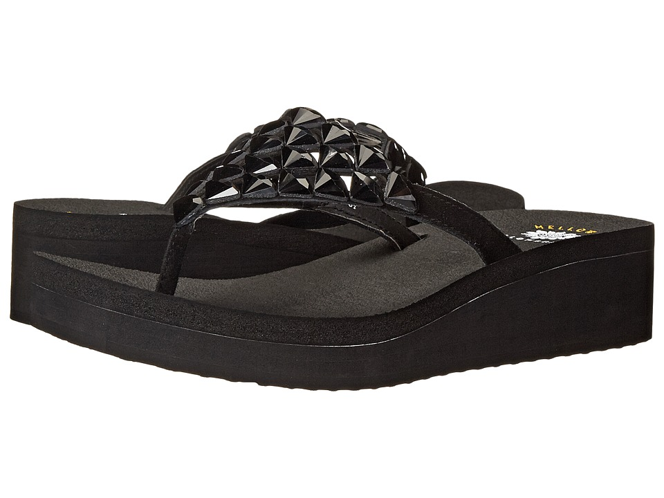 Yellow Box - Candela (Black) Women's Sandals